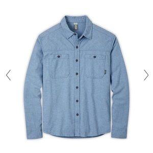 NWT Stio Men's Miter Flannel Shirt- Sz Large